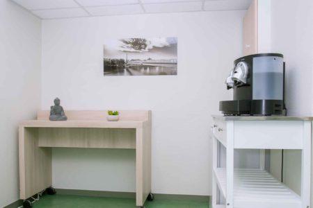 Espace cafe pour les salles de reunion - Espaces Part-dieu