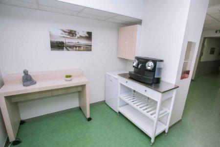 Zone cafe pour les salles de reunion - Espaces Part-dieu